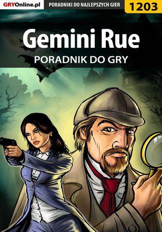 Okładka książki Gemini Rue - poradnik do gry