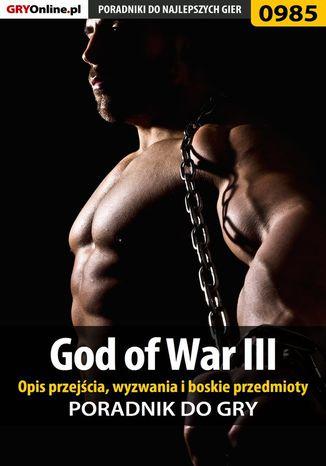 Okładka książki/ebooka God of War III - opis przejścia, wyzwania, boskie przedmioty