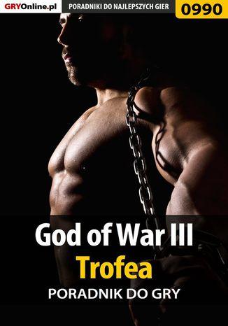 Okładka książki God of War III - trofea - poradnik do gry