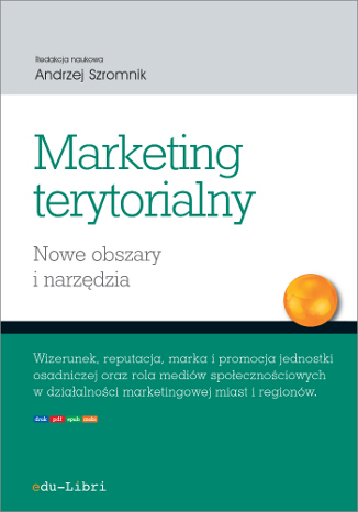 Okładka książki/ebooka Marketing terytorialny. Nowe obszary i narzędzia