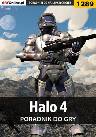 Okładka książki/ebooka Halo 4 - poradnik do gry