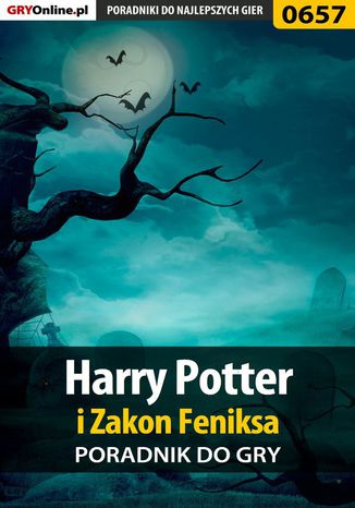 Okładka książki Harry Potter i Zakon Feniksa - poradnik do gry