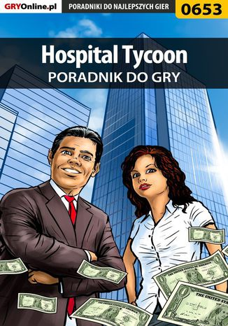 Okładka książki/ebooka Hospital Tycoon - poradnik do gry
