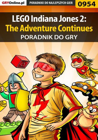Okładka książki/ebooka LEGO Indiana Jones 2: The Adventure Continues - poradnik do gry