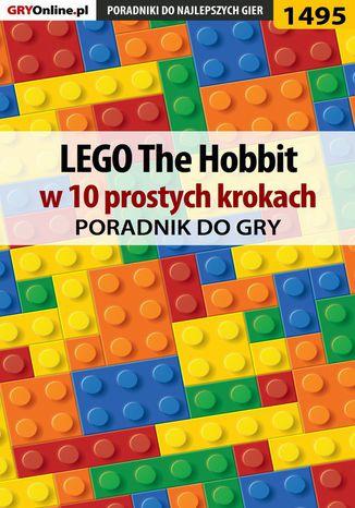 Okładka książki LEGO The Hobbit w 10 prostych krokach