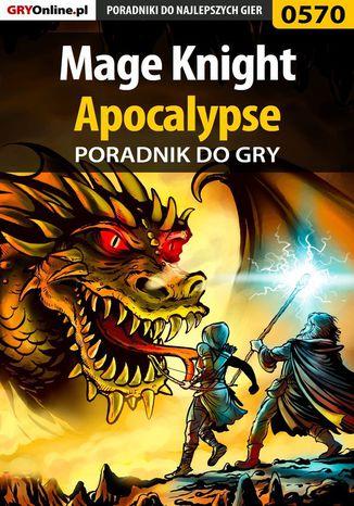 Okładka książki Mage Knight Apocalypse - poradnik do gry