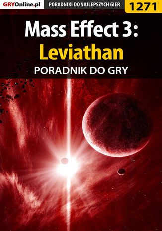 Okładka książki Mass Effect 3: Leviathan - poradnik do gry