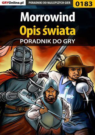 Okładka książki/ebooka Morrowind - Opis Świata - poradnik do gry