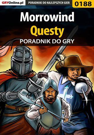 Okładka książki Morrowind - questy - poradnik do gry