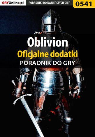 Okładka książki/ebooka Oblivion - oficjalne dodatki - poradnik do gry