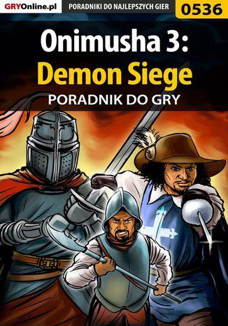Okładka książki Onimusha 3: Demon Siege - poradnik do gry