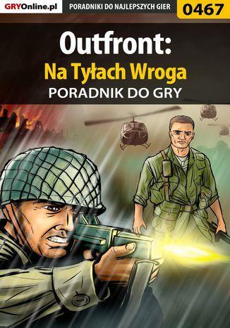 Okładka książki Outfront: Na Tyłach Wroga - poradnik do gry