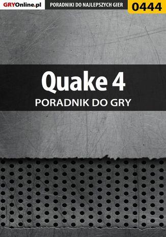 Okładka książki/ebooka Quake 4 - poradnik do gry