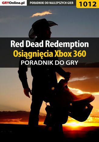 Okładka książki/ebooka Red Dead Redemption - osiągnięcia - poradnik do gry