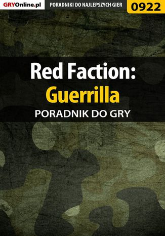 Okładka książki/ebooka Red Faction: Guerrilla - poradnik do gry