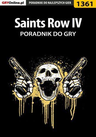 Okładka książki Saints Row IV - poradnik do gry