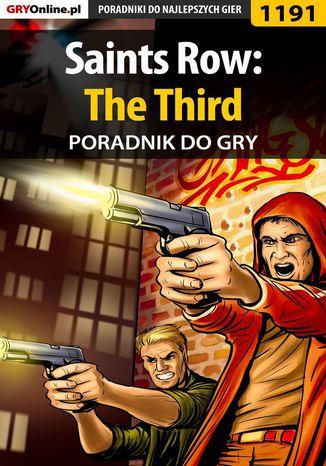 Okładka książki/ebooka Saints Row: The Third - poradnik do gry
