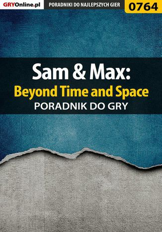 Okładka książki Sam  Max: Beyond Time and Space - poradnik do gry
