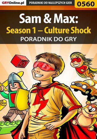 Okładka książki/ebooka Sam  Max: Season 1 - Culture Shock - poradnik do gry