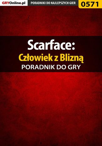 Okładka książki Scarface: Człowiek z Blizną - poradnik do gry