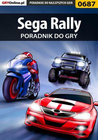 Okładka książki Sega Rally - poradnik do gry
