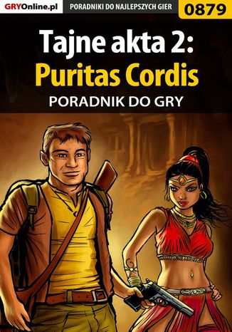 Okładka książki Tajne akta 2: Puritas Cordis - poradnik do gry