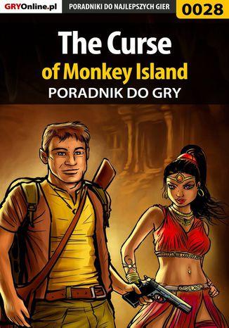 Okładka książki The Curse of Monkey Island - poradnik do gry