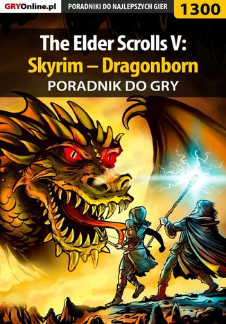Okładka książki The Elder Scrolls V: Skyrim - Dragonborn - poradnik do gry