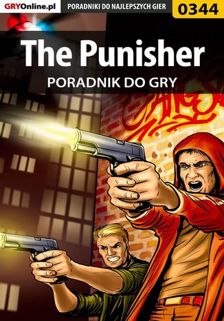 Okładka książki The Punisher - poradnik do gry