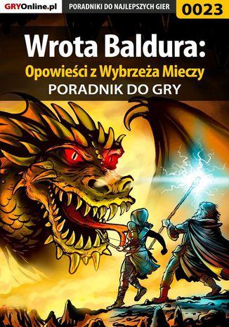 Okładka książki Wrota Baldura: Opowieści z Wybrzeża Mieczy - poradnik do gry