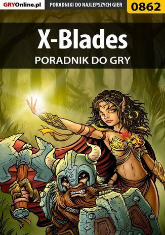 Okładka książki X-Blades - poradnik do gry