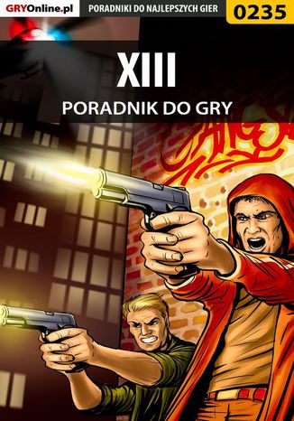 Okładka książki XIII - poradnik do gry