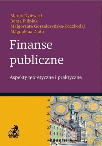 Okładka książki Finanse publiczne. Aspekty teoretyczne i praktyczne
