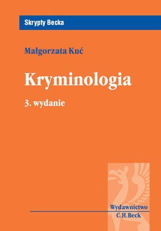 Okładka książki Kryminologia. Wydanie 3
