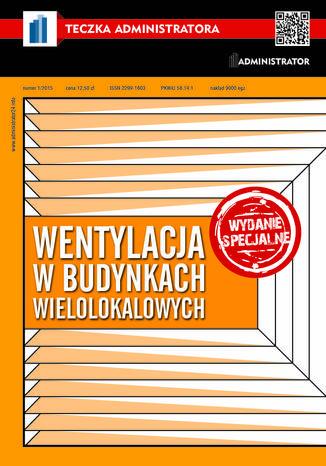 Okładka książki Wentylacja w budynkach wielolokalowych