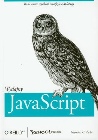Okładka książki Wydajny JavaScript. Budowanie szybkich interfejsów aplikacji
