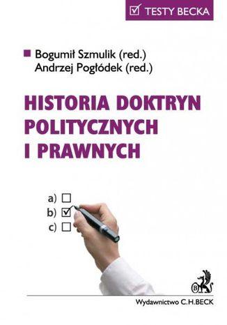 Okładka książki Historia doktryn politycznych i prawnych