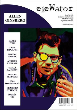 Okładka książki eleWator 11 (1/2015) - Allen Ginsberg