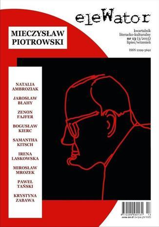 Okładka książki eleWator 13 (3/2015) - Mieczysław Piotrowski