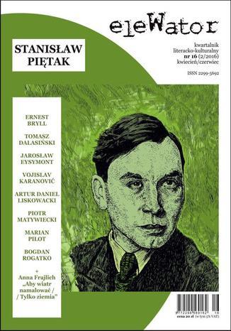 Okładka książki/ebooka eleWator 16 (2/2016) - Stanisław Piętak
