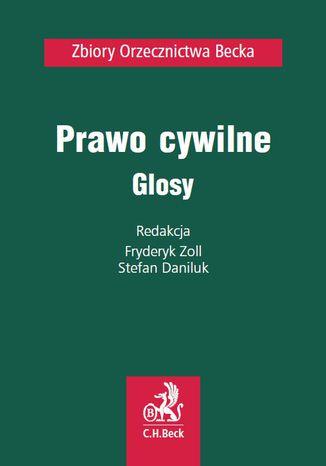 Okładka książki/ebooka Prawo cywilne. Glosy