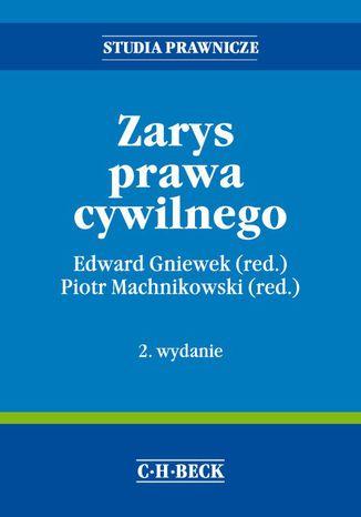 Okładka książki/ebooka Zarys prawa cywilnego. Wydanie 2