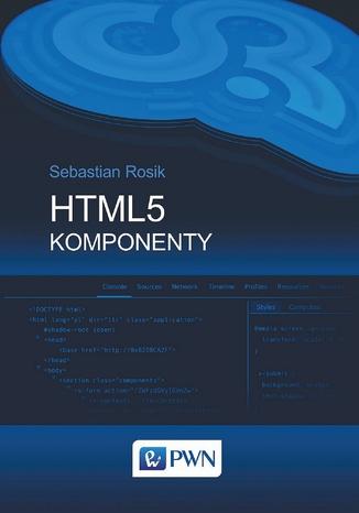 Okładka książki/ebooka HTML5. Komponenty