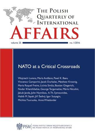 Okładka książki The Polish Quarterly of International Affairs 1/2016