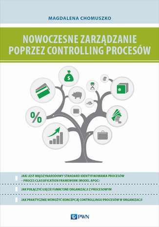 Okładka książki Nowoczesne zarządzanie poprzez controlling procesów