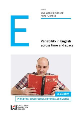 Okładka książki Variability in English across time and space