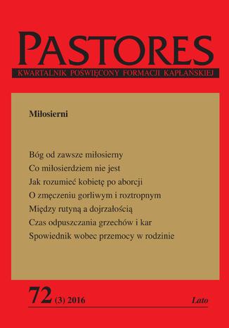 Okładka książki Pastores 72 (3) 2016