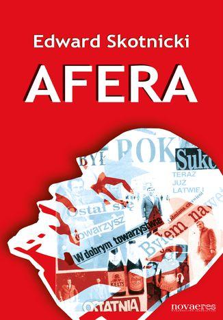 Okładka książki Afera