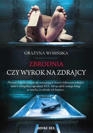 Okładka książki/ebooka Zbrodnia czy wyrok na zdrajcy