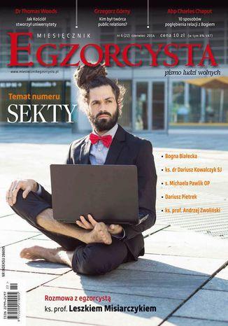 Okładka książki/ebooka Miesięcznik Egzorcysta. Czerwiec 2014